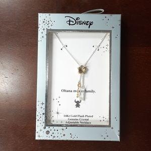 "NIB Disney ""Ohana"" Necklace"